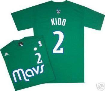 Jason Kidd 2 T Shirt dallas mavericks jason kidd alternate green adidas t shirt