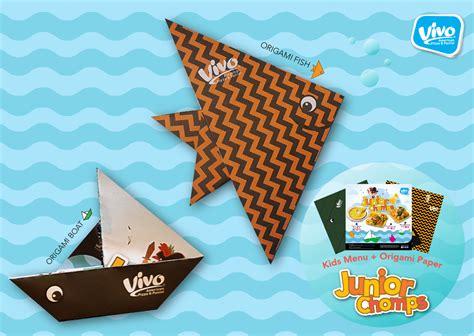 Origami Pizza - vivo 174 pizza x origami folding activity vivo