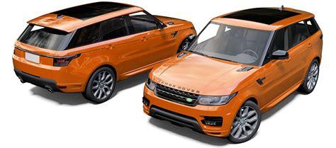 orange range rover svr range rover sport svr reforma uk