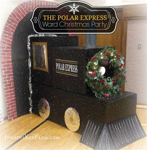 Polar Express Decorations by 25 Unique Ward Ideas On