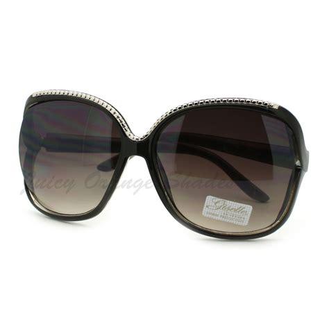 designer l shades designer fashion sunglasses womens oversized square shades