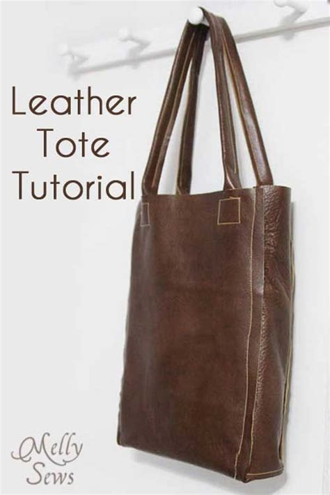 tutorial tote bag sewing leather tote free sewing tutorial michael kors outlet