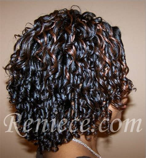 partial curly weave reniece company