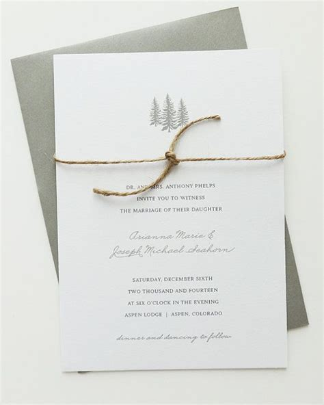 Come With Me Winter Dinner Invites by Best 25 Winter Wedding Invitations Ideas On