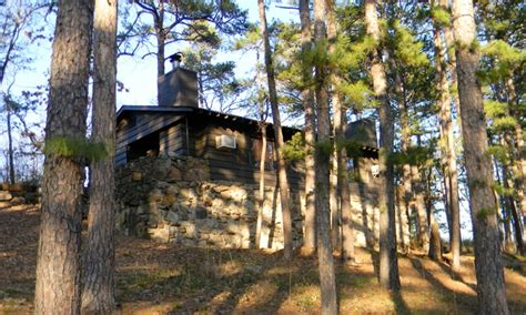 Lake Wister Cabins by One Cabin Stay For Four Lake Wister State Park