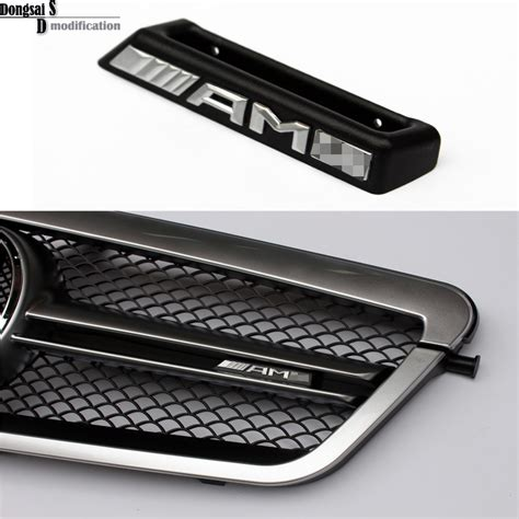 Logo Grill Amg By M Auto kopen wholesale mercedes emblem uit china mercedes