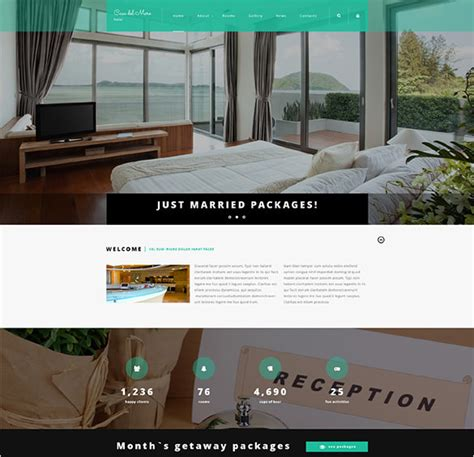 templates for hotel 15 hotel blog themes templates free premium templates