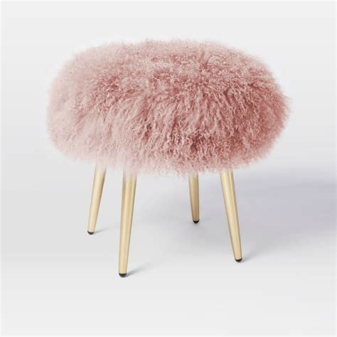 Faux Fur Home Decor the cutest stools for kids bedroom to inspire you kids