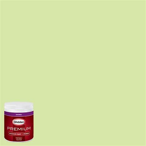 home depot paint analyzer glidden premium 8 oz hdgg28 seamist green eggshell