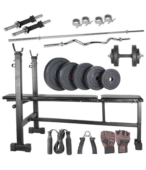 livestrong 100kg home set with 14 inches dumbbell rods
