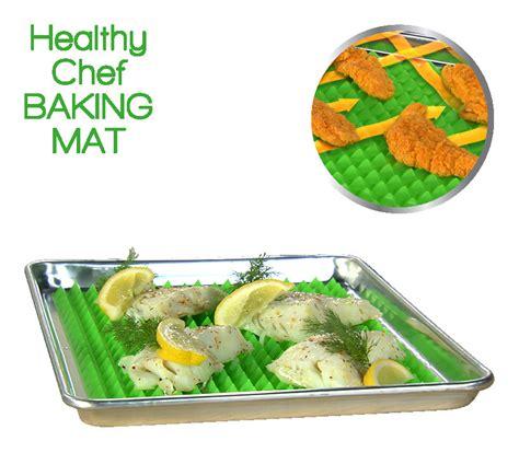 healthy chef baking mat afvallen en toch lekker eten met
