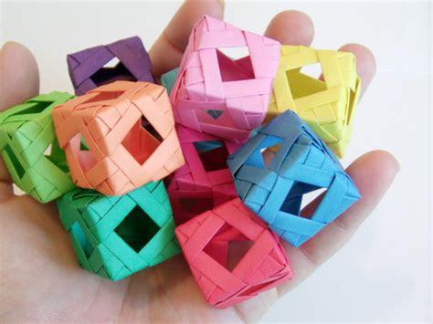 Modular Cube Origami - origami