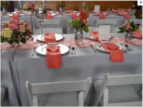 coral colored table ls 25 best ideas about coral grey weddings on