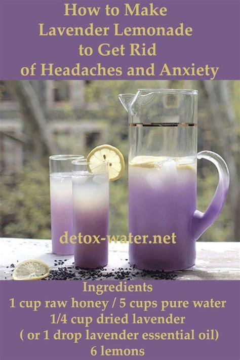 Fresh Lavender For Detox Water by Best 10 Lavender Lemonade Ideas On