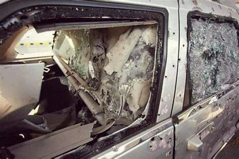 armored jeep after an attack by mexican cartel world of technology armored jeep survives hundreds of