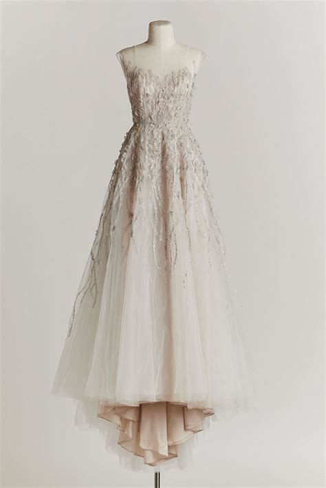 Informal Vintage Style Wedding Dresses by Bhldn Wisteria Gown Size 6 Wedding Dress Oncewed