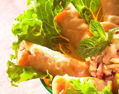 cuisiner les prot駟nes de soja recette nems au crabe notre recette nems au crabe
