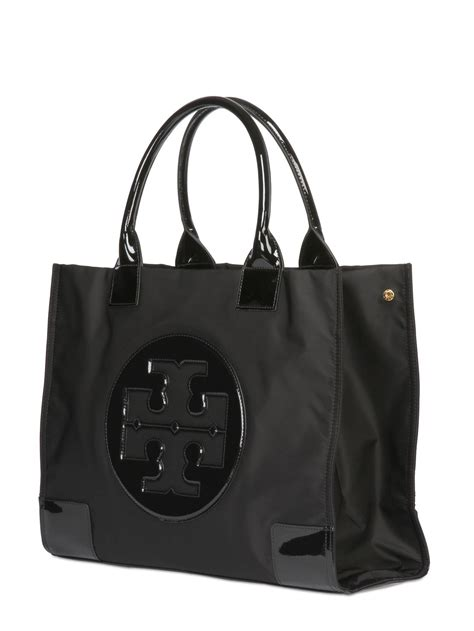 Burch Patent Leather Tote by Burch Large Ella Patent Leather Tote In Black