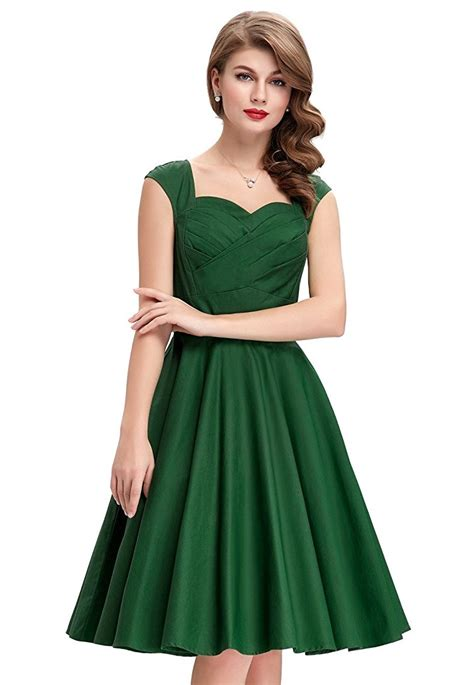 green swing dress tiffany emerald sweetheart swing dress 1950sglam