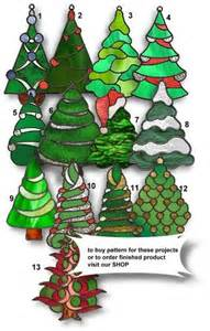 christmas tree stained glass stained glass pinterest