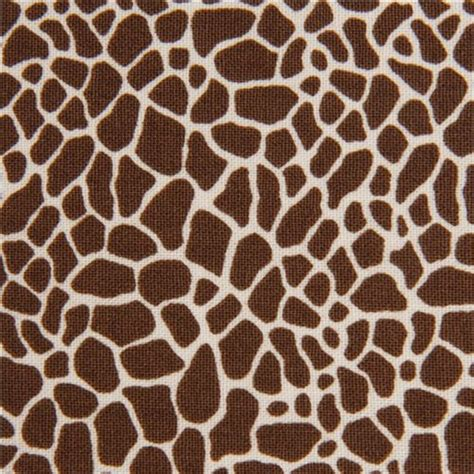 giraffe print upholstery fabric brown giraffe print fabric by timeless treasures usa