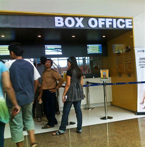 At The Box Office by Stock Pictures Photo Of A Ticket Window For Buying Cinema
