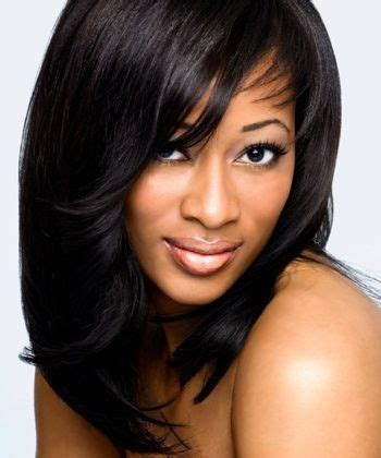 Weave Hairstyles With Side Bangs by Weave Hairstyles With Side Bangs Swoop Bangs Hairstyles