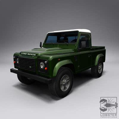 Land Rover Kaos 3d Umakuka 3d model land rover defender 90