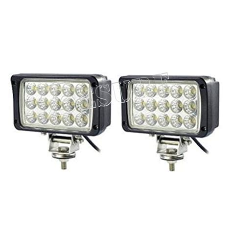 led utility work lights portable 45w auto led work light outdoor square head l