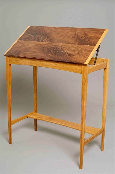 Standing Drafting Table Drafting Table Standing Desk Oak Student Drafting Table Standing Desk By Owlsongvintage