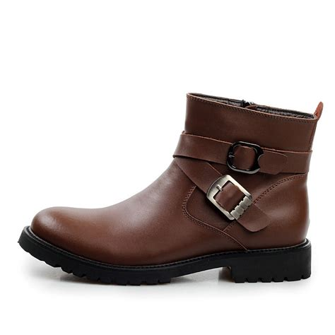 s with boots autumn classic s genuine leather motorcycle boots with