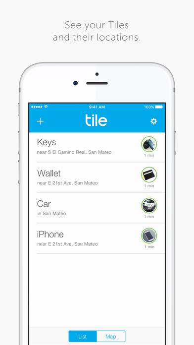 Tile App Iphone Tile Find Track Your Lost Phone Wallet On The