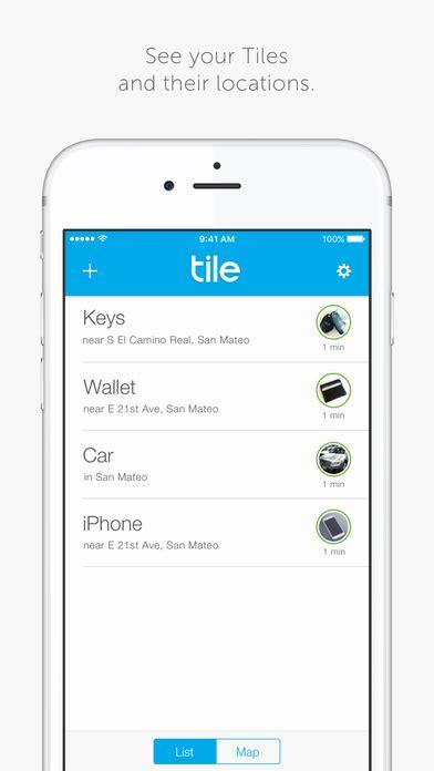 Buy Tile App Tile Find Track Your Lost Phone Wallet On The