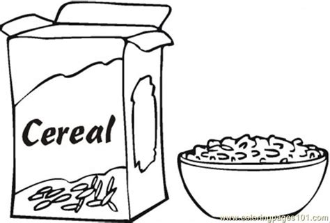 coloring pages s for breakfast coloring page food