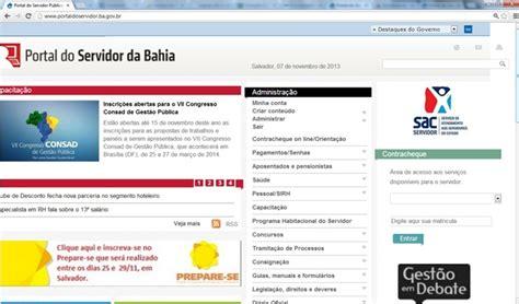 portal do servidores reajuste dos servidores da ba 2016 portal do servidor ba