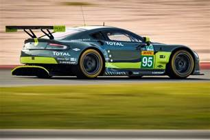Aston Martin Driving 2017 Aston Martin Racing V8 Vantage Gte At Le Mans