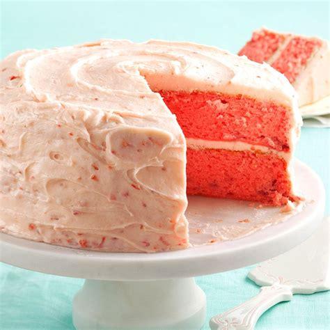 mamaw emily s strawberry cake recipe taste of home