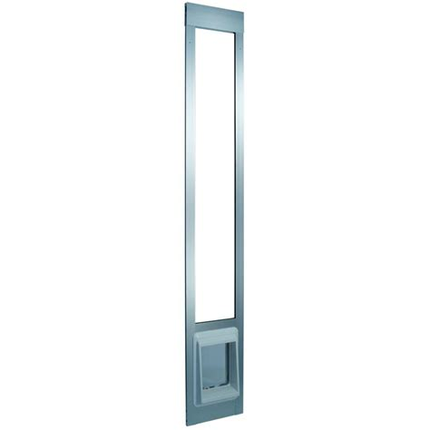 Ideal Patio Pet Door Ideal Pet 15 In X 20 In Large White Aluminum Pet Patio Door Fits 77 6 In To 80 4 In