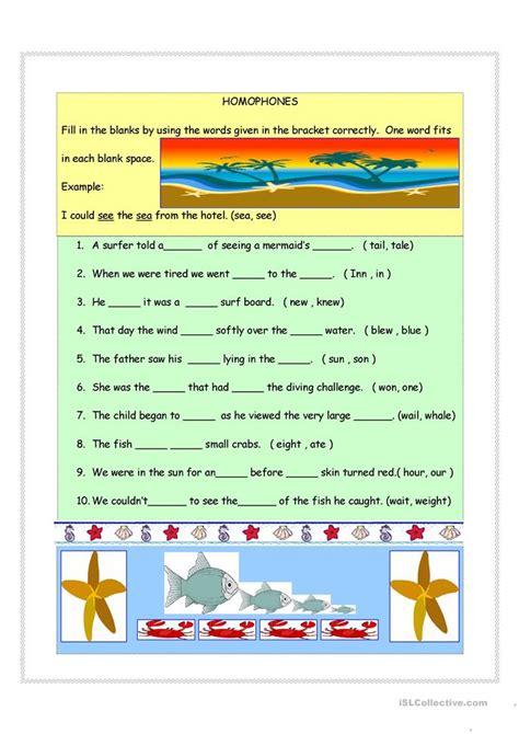 Free Homograph Worksheets by Homophones Homographs Synonyms Worksheet Free Esl Printable Worksheets Made By Teachers