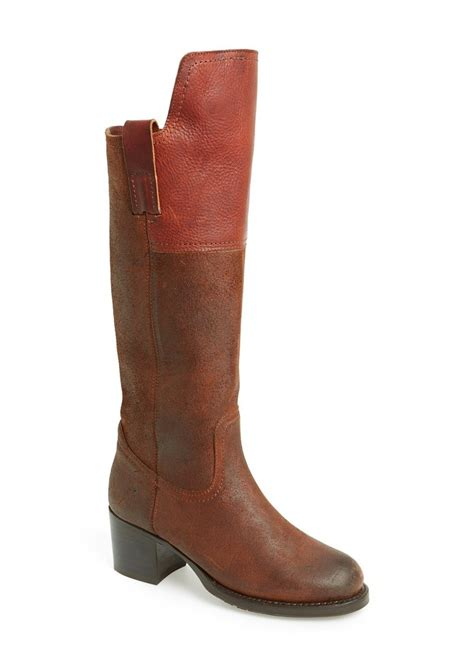 frye frye autumn shield suede leather boot