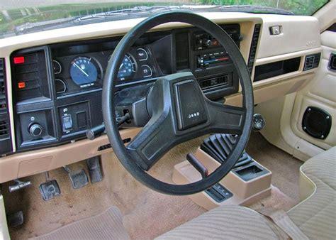 1988 jeep comanche interior chrysler comanche mj klassiekerweb
