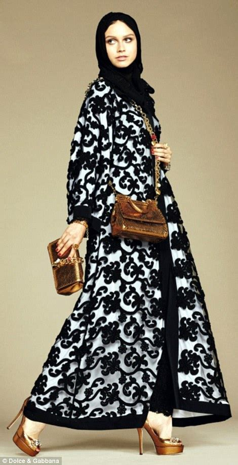 St Zara Stripe H Setelan Pakaian Wanita dolce gabanna launches and abaya collection for muslim customers daily mail