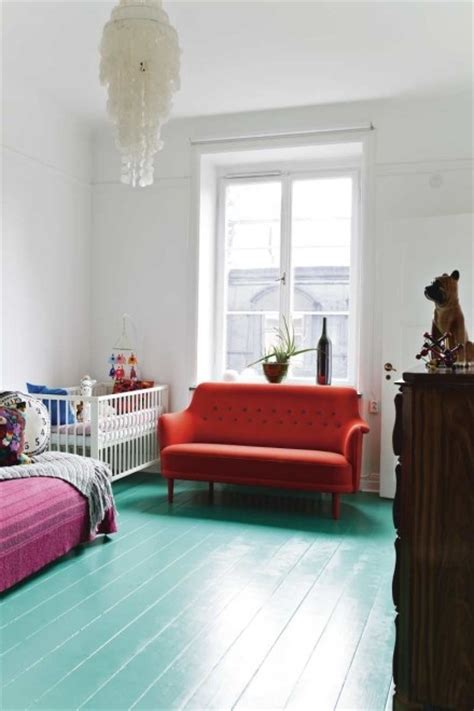 Painted Floors by 15 Floor Ideas For Rooms Design Dazzle