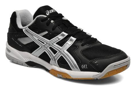 Sepatu Asics Gel Rocket 6 asics gel rocket 6 sport shoes in black at sarenza co uk