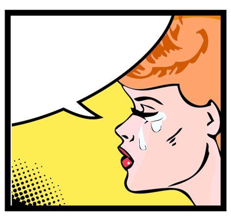 imagenes llorando comicas fotomural ilustraci 243 n vectorial de una mujer llorando en
