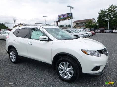 nissan white rogue 2016 pearl white nissan rogue sv awd 114887534 photo 17