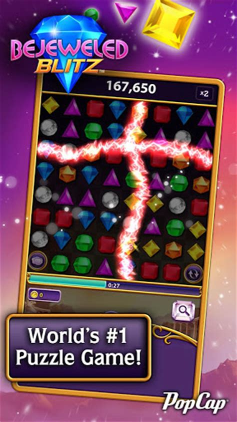 popcap for android popcap intros bejewled blitz for android