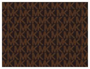 michael kors brown pattern a4 printed icing elegant edible icing