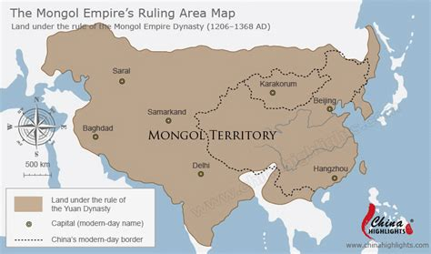 mongol empire map mongolia terriroty map map of mongolia ruling area