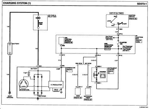 kia sportage alternator problems 2002 kia charging diagram kia auto parts catalog and
